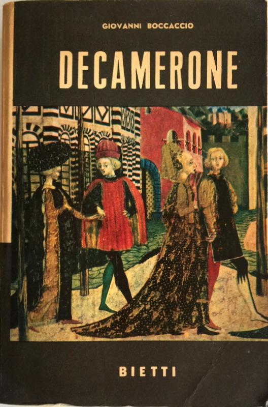 Decamerone boek