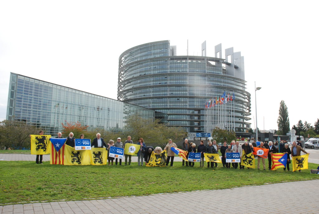 Busreis naar het Europees Parlement in Straatsburg