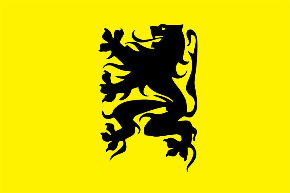 Actie vlag Vlaamse beweging