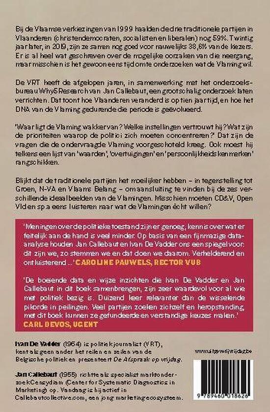 Een recensie van het boek 'Het DNA van Vlaanderen'