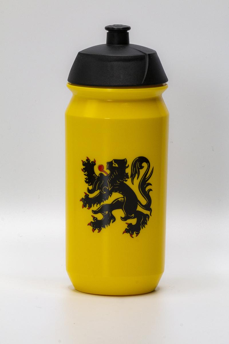 Drinkbus met officiële Vlaamse Leeuw